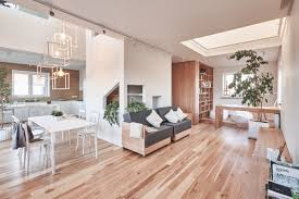 modern and minimalist house design ideas applied with wooden decor modern minimalist open plan design