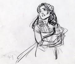 tarzan and gorilla concept sketches by glen keane character