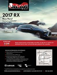 lexus edmonton spa eso signature jan feb mar 2017 by venture publishing issuu