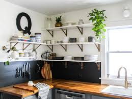 kitchen cabinet lighting brackets how to replace cabinets with open shelving diy