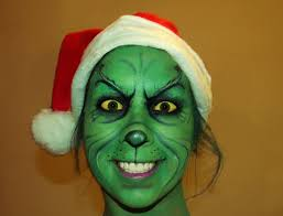 grinch halloween costumes grinch makeup google search face body painting pinterest