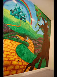 deviantart more like emerald city wall mural by grandsyeuxbleu