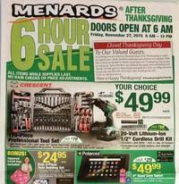 menards black friday 2017