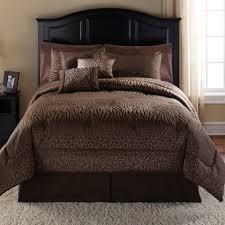 bedroom surprising brown queen comforter set design for