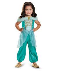 Halloween Costumes Kids Girls Disney Princess Jasmine Classic Child Halloween Costume Small 4