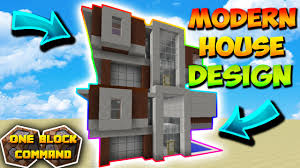 Modern House Furniture Minecraft Minecraft 1 10 Instant Modern House Tool Instantly Builds A