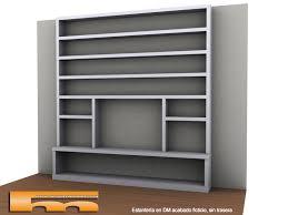 libreria tv estanteria mueble tv barcelona arturo