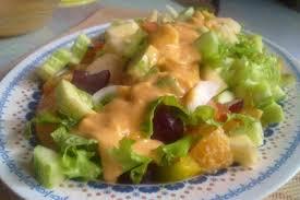 cara membuat salad sayur atau buah resep salad salad kentang buah cur