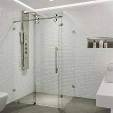 Corner Shower Glass Doors Corner Shower Doors Shower Doors The Home Depot