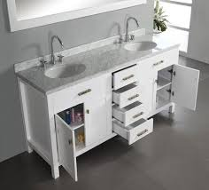 Bathroom Vanity Top Abodo 72inch Transitional Bathroom Vanity White Finish Set
