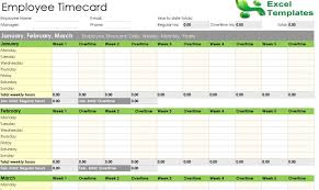 employee leave record excel tracker templates u2013 project management