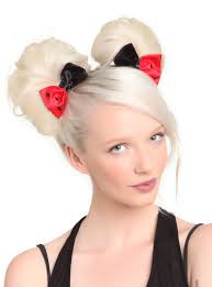 dc comics harley quinn hair bows 2 pack topic harley quinn
