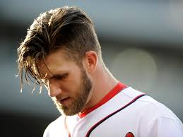 baseball hairstyles bryce harper haircut the best of pictures of his different