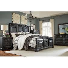 Black Bed Room Sets Black Traditional 6 Bedroom Set Passages Rc Willey