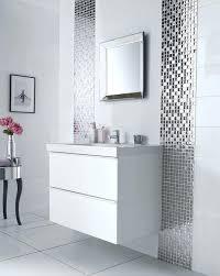 bathroom wall tiles design bathroom wall tile ideas designs mirror mosaic tiles lines along