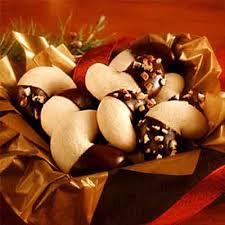 chocolate dipped crescents recipe land o u0027lakes