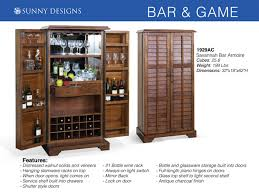 sunny designs savannah bar u0026 game room furniture with prices