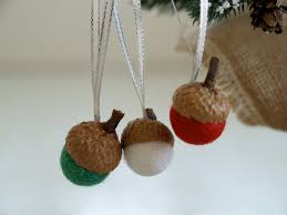 felted acorn kit ornaments the magic onions store