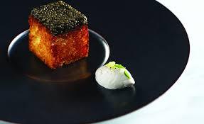 caviar recettes cuisine recette de perdu au caviar par stéphanie le quellec