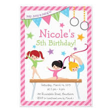birthday party invitations free printable gymnastic birthday invitations updated drevio