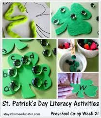 60 st patrick u0027s day activities preschool and kindergarten