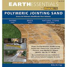Patio Paver Jointing Sand by Shop Earthessentials By Quikrete 40 Lb Polymeric Jointing And