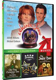 amazon com 4 movie holiday a chance of snow our first christmas