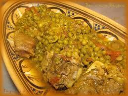 cuisine marocaine tajine agneau tajine d agneau petit pois dansmontajine