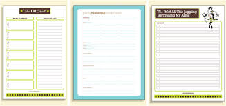 organized home printable menu planner get organized planners printables apps and accessories to save