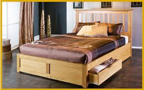 Bed Frames Oak Wooden Bed Frames Available In Single King Size And Bunks