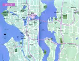 Bellevue Seattle Map by The Web Shell