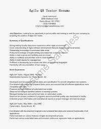 Sample Resume For Software Test Engineer With Experience by Software Qa Tester Sample Resume
