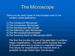 There Are Five Lights The Microscope The Ability Of The Microscope To Both Magnify And