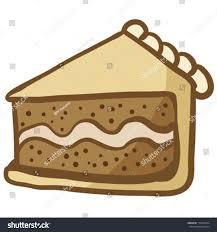 cartoon illustration piece cake stock vector 174931634 shutterstock