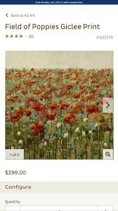 8 best tudor oaks images on pinterest paintings pier 1 imports field of poppies giclee print ballard design diy inspiration