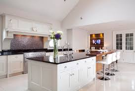 solid wood handcrafted kitchen belfast northen ireland bespoke handpainted kitchen with granite worksurfaces in co down northern ireland by canavan interiors