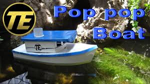 d i y how to make a pop pop boat youtube