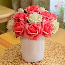 27cm europe minimalist style handmade artificial flowers home