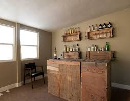 home bar decoration decorations astounding country style home bar ideas pallet wood