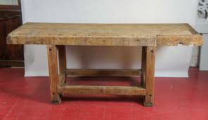 industrial workbench kitchen island table at 1stdibs industrial workbench kitchen island table 2