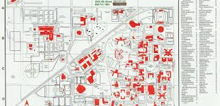 Pacific University Campus Map Ysu Campus Map Map Of Ocean Currents Delhi On Map