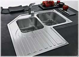 Space Saving Kitchen Sinks by Ceramic Corner Kitchen Sink Of Save Your Space With Corner Kitchen