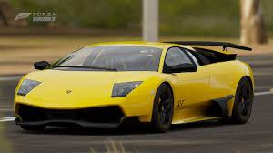 Lamborghini Murcielago Yellow - forza horizon 3 cars
