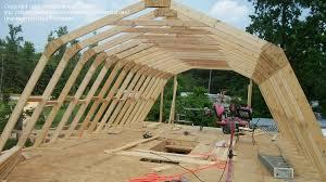 Barn Roof by Barn Truss Designs Homesteading Cricketsgarden Picture
