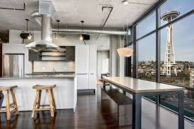 home of the week sophisticated sky high condo in belltown
