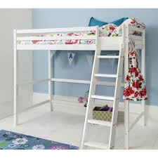 High Sleeper Cabin Bed In White Texas Noa  Nani - High bunk beds