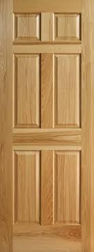 Panel Interior Door Hickory 6 Panel Interior Doors With Raised Panels Homestead Doors