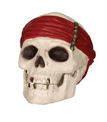 skull decor 3d pirate skull decor seasons usa inc