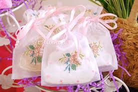 organza bag embroidered organza favor bags the shop at bellenza