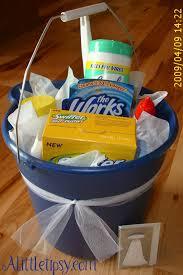 cleanin u0027 bucket gift basket toilet bowl cleaner sponges